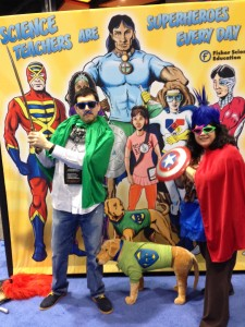 Science teachers (RJ and Angelica) are super Heroes!