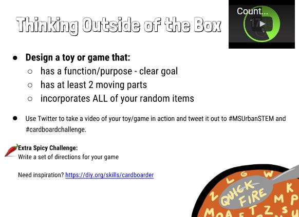 quickfire-cardboard-challenge