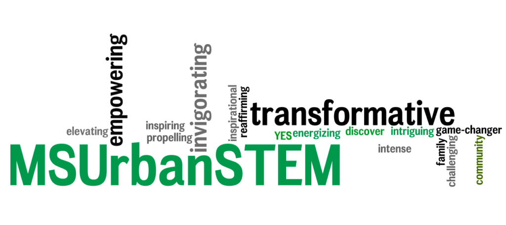 #MSUrbanSTEM1